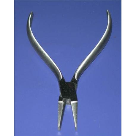 Kleszcze Płasko-Półokrągłe 130mm