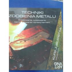 """Książka """"Techniki Zdobienia Metalu"""""""